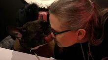 El perro de Carrie Fisher reconoció a su dueña cuando veía Los últimos Jedi