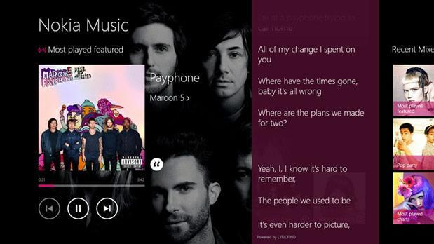 Nokia Music app launched for Windows 8 and RT hardware (video)