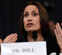 Fiona Hill put out fire in her hair with her hands before finishing test, Trump impeachment inquiry hears