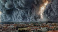 As fotos dos incêndios devastadores em Portugal e na Espanha