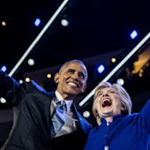 Barack Obama Calls on Country to Pass Hillary Clinton the Baton
