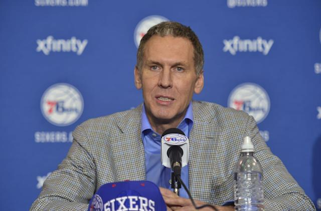Sixers president accused of leaking info with burner Twitter accounts