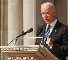 Biden praises GOP senator's bipartisanship in eulogy