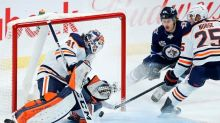 Mike Smith makes 25 saves for shutout as Oilers blank Jets 3-0