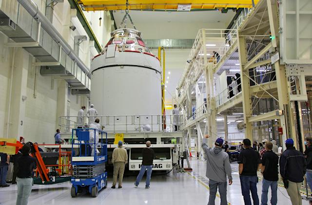 NASA's Orion spacecraft is ready to fly to the Moon