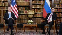 Biden freezes military aid to Ukraine after Putin summit as leaders plea for help