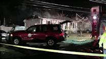 Elderly couple escapes fiery home in Bensalem