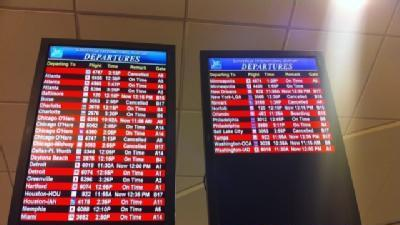 Update: Louisville Travel Affected By Snow Elsewhere