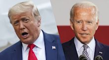Trump says a President Biden would get 'no ratings'