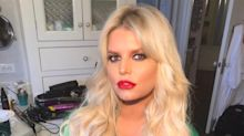 Jessica Simpson Makes Everyone 'Green with Envy' Wearing Emerald Silk Robe in a Sultry Snap
