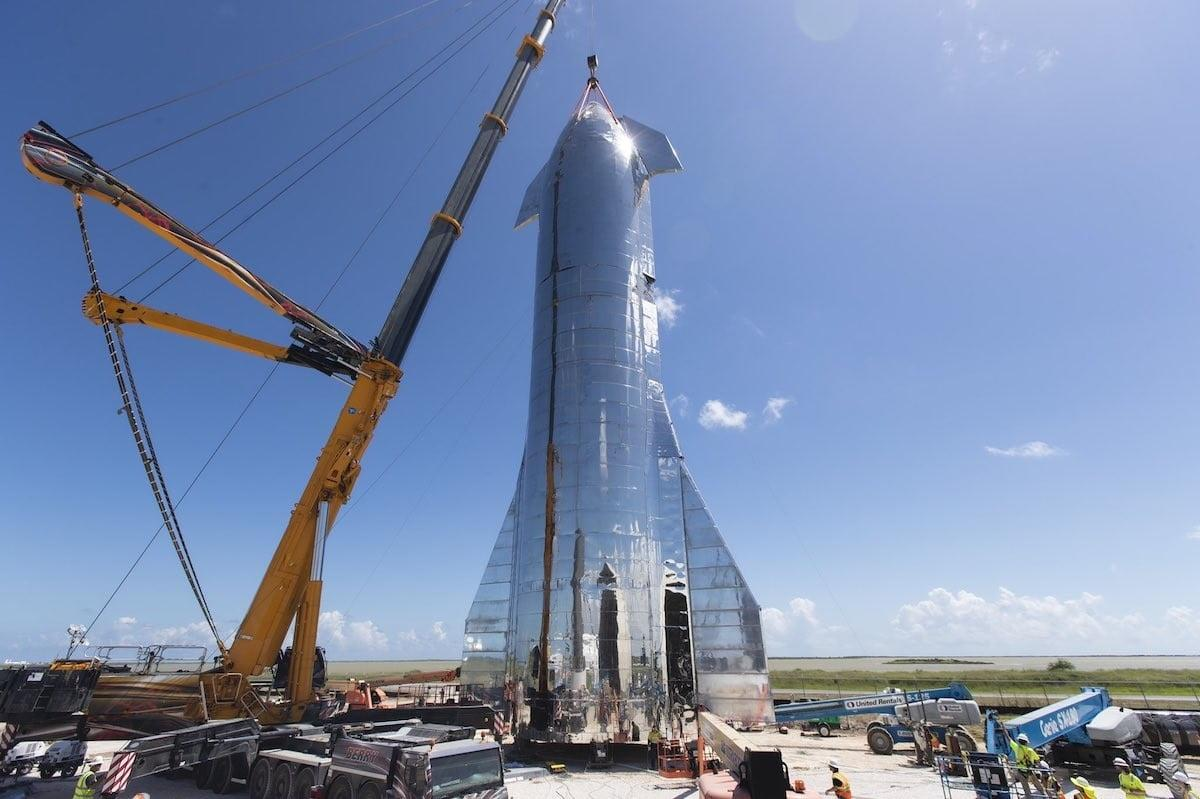 New Spacex Starship Prototype Will Fly To A Height Of 60 000 Feet