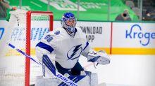 NHL roundup: Lightning's Andrei Vasilevskiy posts third straight shutout