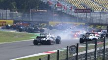 Tempers flare following dramatic pile-up at Tuscan Grand Prix