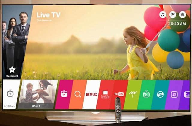 LG wants to make using smart TVs easier with webOS 3.0
