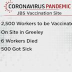 JBS Meat Plant Hosts COVID Vaccine Clinic For Employees