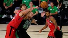 Celtics look to knock out champion Raptors in Game 6