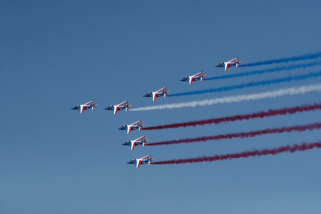 The Paris Air Show kicked off with a markedly less self-congratulatory mood (AFP Photo/BENOIT TESSIER)