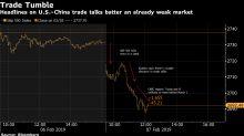 Acciones de EEUU caen por pesimismo sobre comercio y crecimiento