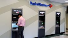 Bank of America posts record earnings, but shares drop on growth fears