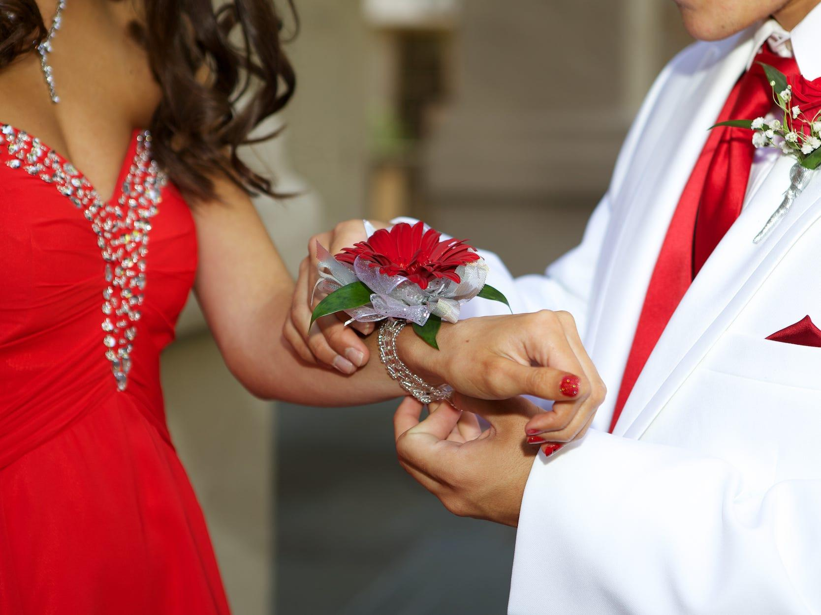 Students at a New Hampshire high school were marked with a 'black Sharpie on their hands' based on their vaccination status at their prom