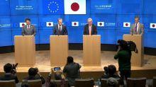 EU und Japan wollen gemeinsam die Wirtschaft voranbringen