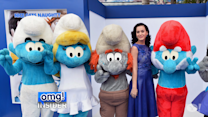 "Stars Hit the Blue Carpet for ""The Smurfs 2"" Premiere"