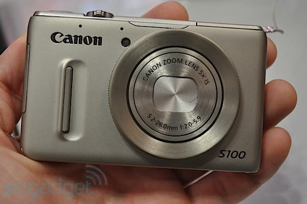 Canon S100 hands-on (video)