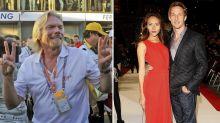 Jenson Button confronted 'drunk' Richard Branson after he 'touched' ex-girlfriend Jessica Michibata