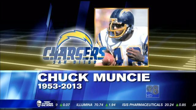 Chargers great Chuck Muncie dies at age 60