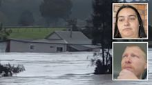 Couple devastated after losing home to floods on wedding day
