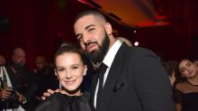 Millie Bobby Brown, 14, defends friendship with rapper Drake, 31