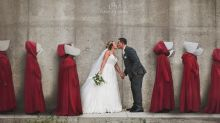 'What is wrong with you?': Ontario newlyweds slammed for 'Handmaid's Tale' themed wedding photo