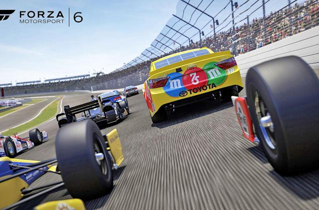 'Forza' NASCAR expansion puts stock cars on the world stage