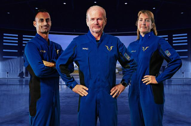 Virgin Galactic reveals its new Under Armour pilot spacesuits