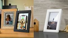 Say Goodbye to Ugly Cords With This Phone-Charging Picture Frame