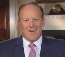 Sean Spicer rounds on the media in first interview since quitting as Donald Trump's spokesman