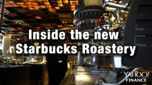 What it's like inside the new Starbucks Roastery