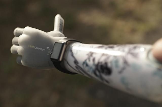 Powered prosthetics turn mundane tasks into monumental feats