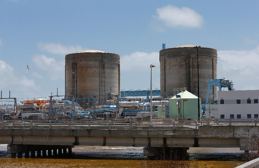 Plans to expand the Turkey Point Nuclear Reactor power station are on hold (AFP Photo/RHONA WISE )