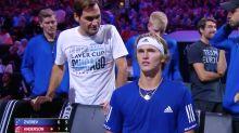 Tennis world erupts over 'insane' Roger Federer moment