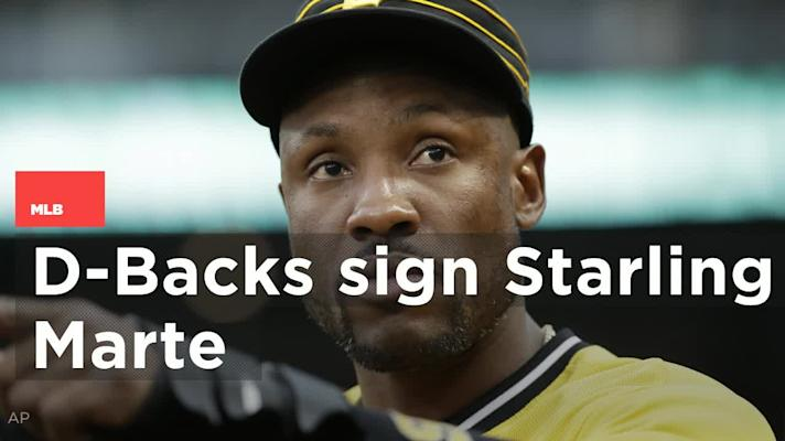 D-backs trade for All-Star outfielder Starling Marte from Pirates