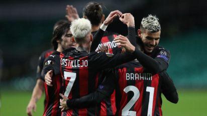 Il Milan non si ferma più e vola anche in Europa League: 3-1 a Glasgow contro il Celtic