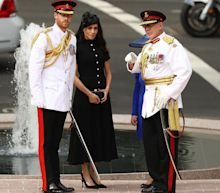Royal tour: Duke and Duchess of Sussex unveil Sydney's Anzac memorial