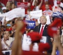 Trump Courts 2020 Hispanic Vote in Miami With Venezuela Remarks