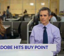 Adobe Hits Buy Point