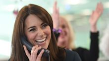 Duchess of Cambridge promises to wear pink princess dress to meet five-year-old cancer patient