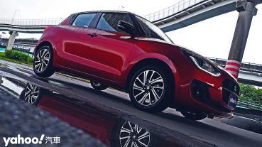 帶電之後更合理!2021 Suzuki Swift Hybrid冬雨試駕
