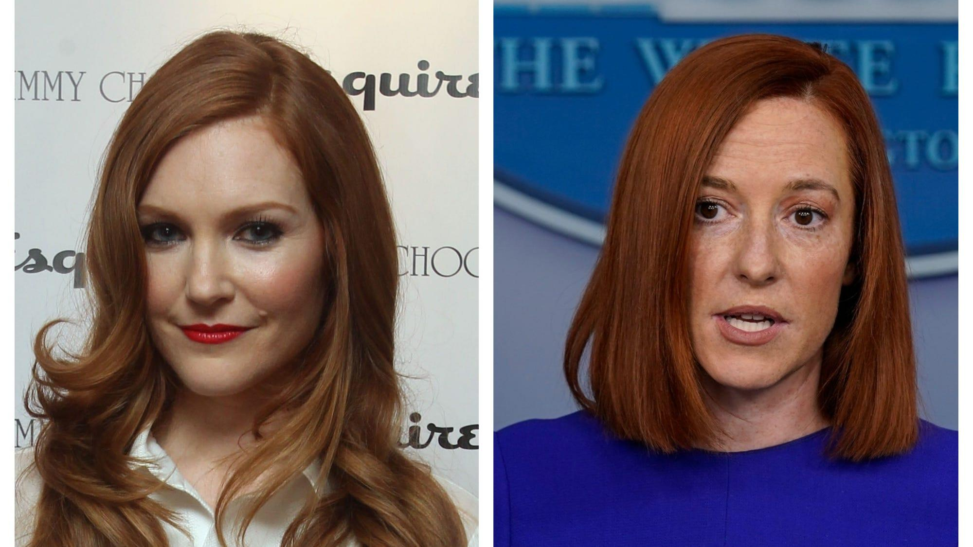 Scandal's Darby Stanchfield offers tips to White House press secretary Jen Psaki