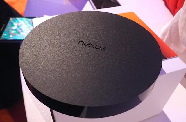 Google takes another step into your living room with its Nexus Player (hands-on)