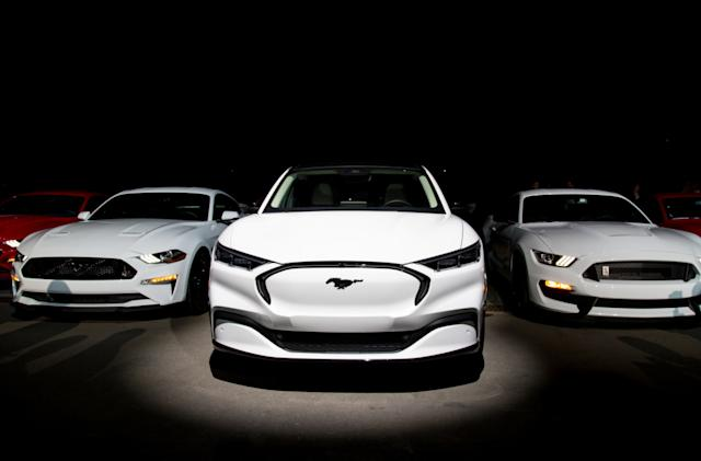 Ford starts taking Mustang Mach-E orders in the US